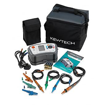 Kewtech Digital 8in1 Mulifunction Mega Test Meter