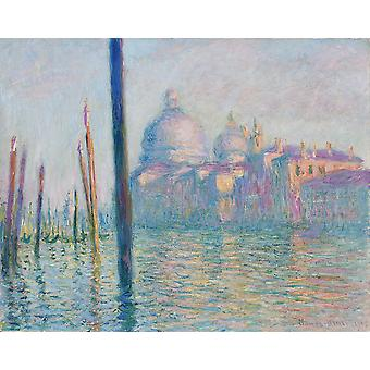 Claude Monet - Le Grand Canal Poster Print Giclee
