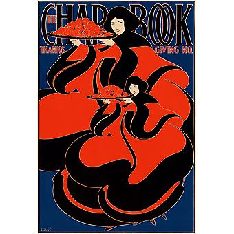 The Chap Book Thanksgiving number Poster Print Giclee