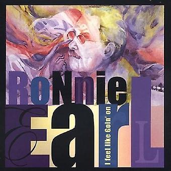 Ronnie Earl - jeg føler ligesom Goin ' på [CD] USA import