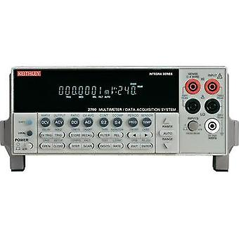 Bench multimeter Keithley 2700E Calibrated to: Manufacturer's standards (no certificate)