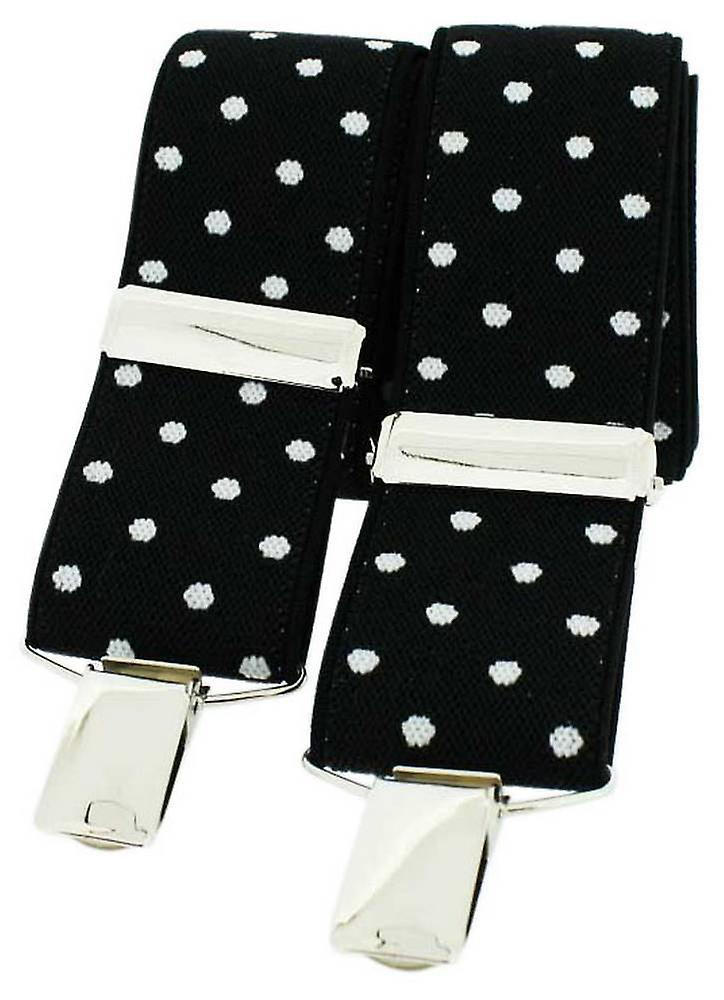 David Van Hagen Classic Fashion Brace - Black/White