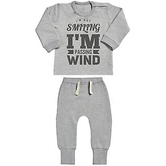 Spoilt Rotten Passing Wind Sweatshirt & Joggers Baby Outfit Set