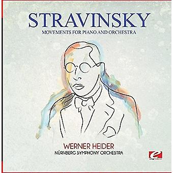 Stravinsky - Movements for Piano & Orchestra [CD] USA import