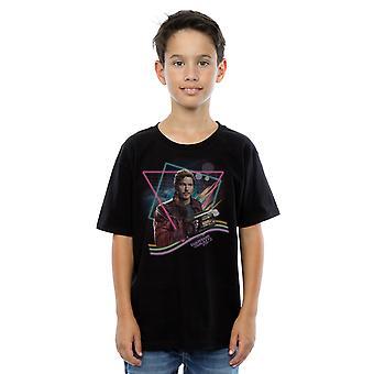 Wonder Boys hoeders van de Galaxy Neon Star Lord T-Shirt