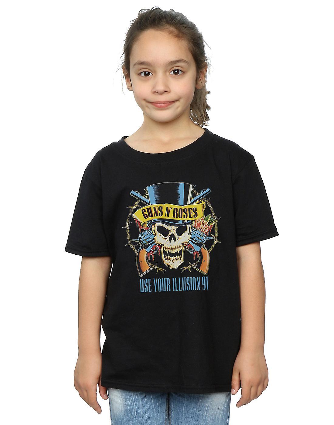 Guns N Roses meisjes gebruiken uw illusie 91 Tour T-Shirt