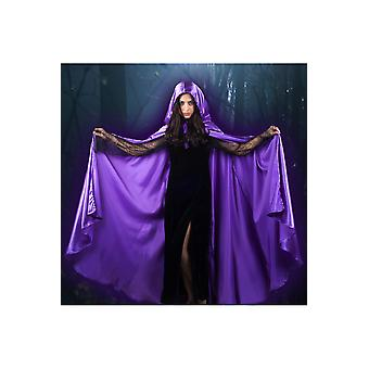 Capes Cape satin lila