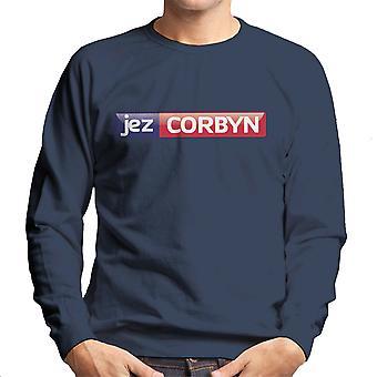 Jeremy Corbyn Sky News Logo Men's Sweatshirt