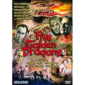 Fem gyldne Dragons [DVD] USA importerer