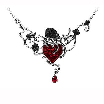 Alchemy Pewter Pendant Bed of Blood-Roses