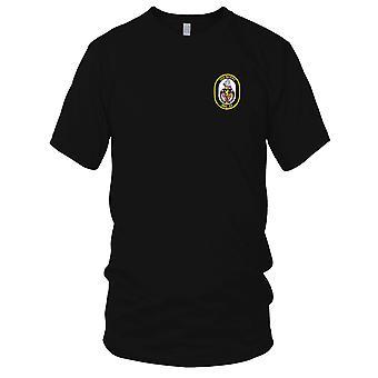E.U. Marinha DDG-52 USS Barry bordada Patch - Mens T-Shirt