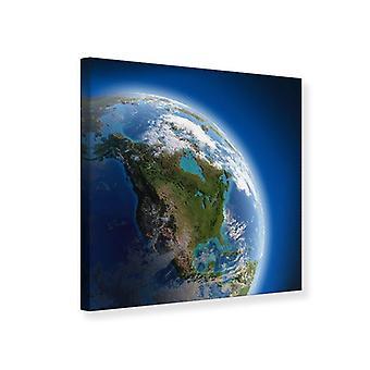 Canvas Print The Earth