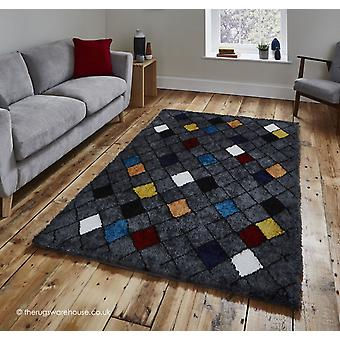 Broadway Tribal Charcoal Rug