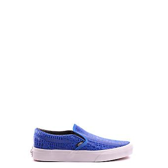 Vans ladies MCBI306004O Blau leather slip on sneakers