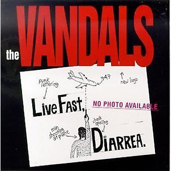 Vandaler - Live hurtigt diarré [CD] USA importerer