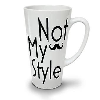 Mein Stil neue weißer Tee Kaffee Keramik Latte Becher 17 oz   Wellcoda