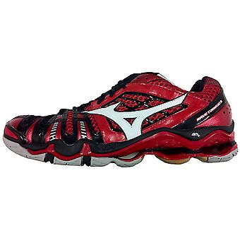 ميزونو موجه إعصار 8 داخلي الأحذية [أحمر/أبيض/أسود]
