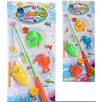 Import Fishing Game 4 Fishes Blister 53X22 (Babies and Children , Toys , Others)