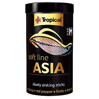 Tropical 67723 Soft Line Asia M 100 ml (Fish , Food , Warm Water)