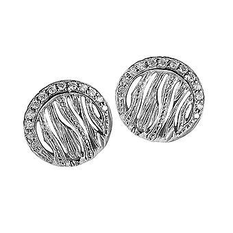 Orphelia sølv 925 ørering Zirconium ZO-6031