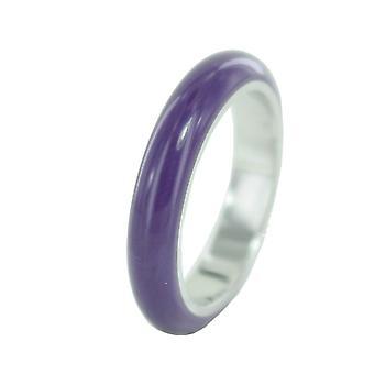 ESPRIT women's pierścień ze stali nierdzewnej Marin 68 fioletowy / srebrny ESRG11562H
