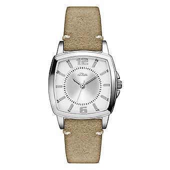 s.Oliver women's watch wristwatch leather SO-3245-LQ
