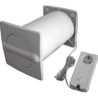 Energie-besparende muur kabinet Plastic geschikt voor pijp diameter: 150 mm