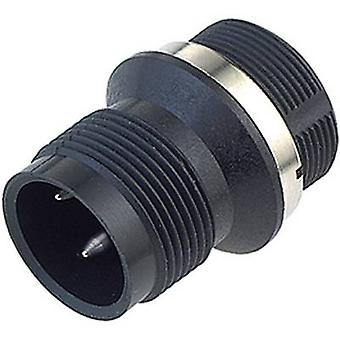 Binder 09-0441-81-04 M18 Sensor / Actuator Connector, Screw Cap, Straight