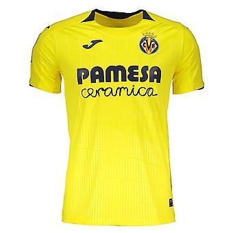 2018-2019 Villarreal Joma Home Football Shirt (Kids)