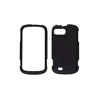 5 Pack -Wireless Solutions Soft Touch Snap-On Case for ZTE Sean/Fury/ N850 - Black