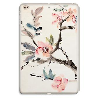 iPad Mini 4 Transparent Case (Soft) - Japenese flowers