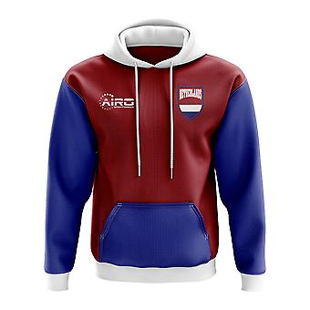 Netherlands Concept Country Football Hoody (Red)