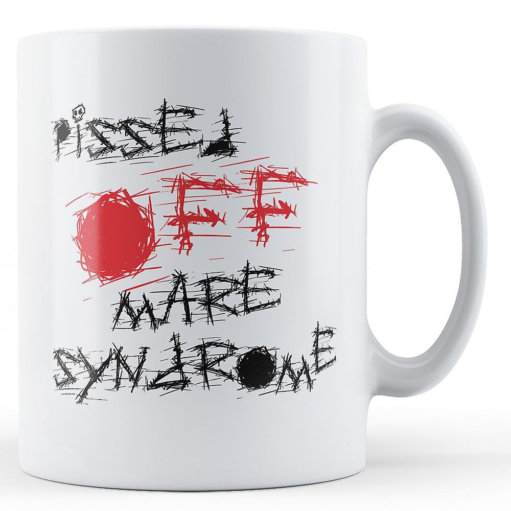 MareMug Syndrome La De En Imprimé Colère oxBedC