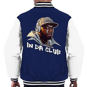 50 Cent In Da Club Song Title Men's Varsity Jacket
