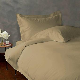 (1000tc)-100% Egyptian Cotton Duvet Cover Set-taupe