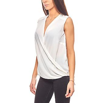 CORLEY cool ladies mullet Blusen top White