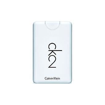 Calvin Klein CK2 Eau de Toilette reizen Spray 20ml