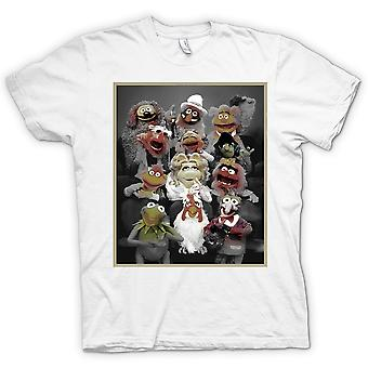 Camiseta mujer - Muppets Gang - clásico TV Show