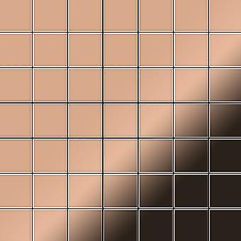Metal mosaic Copper ALLOY Attica-CM