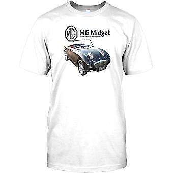 MG Midget Mk 2 - Curbside Classic - Briitsh Legend Kids T-shirt