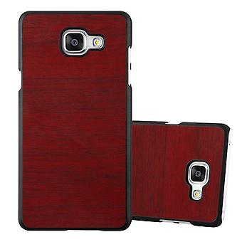 Cadorabo sleeve for Samsung Galaxy A5 2016 - mobile cover from TPU silicone in vintage wood optics - silicone case cover ultra slim soft back cover case bumper