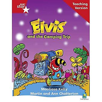Elvis and the Camping Trip: Phonic Opportunity Red Level (Rigby Star Guided)