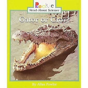Gator or Croc