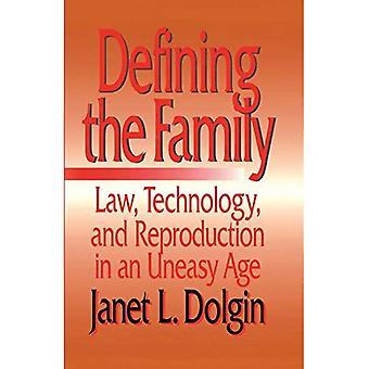 Definere familien: lov, teknologi og reproduksjon i en urolig tid