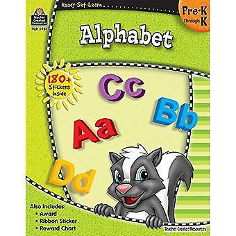 Alphabet, jardin d'enfants