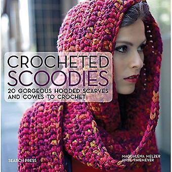 Scoodies ganchillo: 20 hermosas bufandas con capucha y capuchas a Crochet