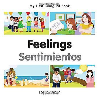Min första tvåspråkiga bok - känslor - spanska-engelska