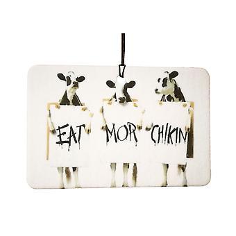 Cows Protest Car Air Freshener