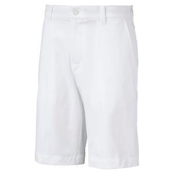 PUMA Heather Pounce Jr Kinder Woven Shorts Bright Weiss