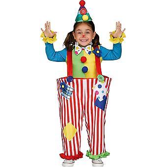 Crazy Clown Child Costume